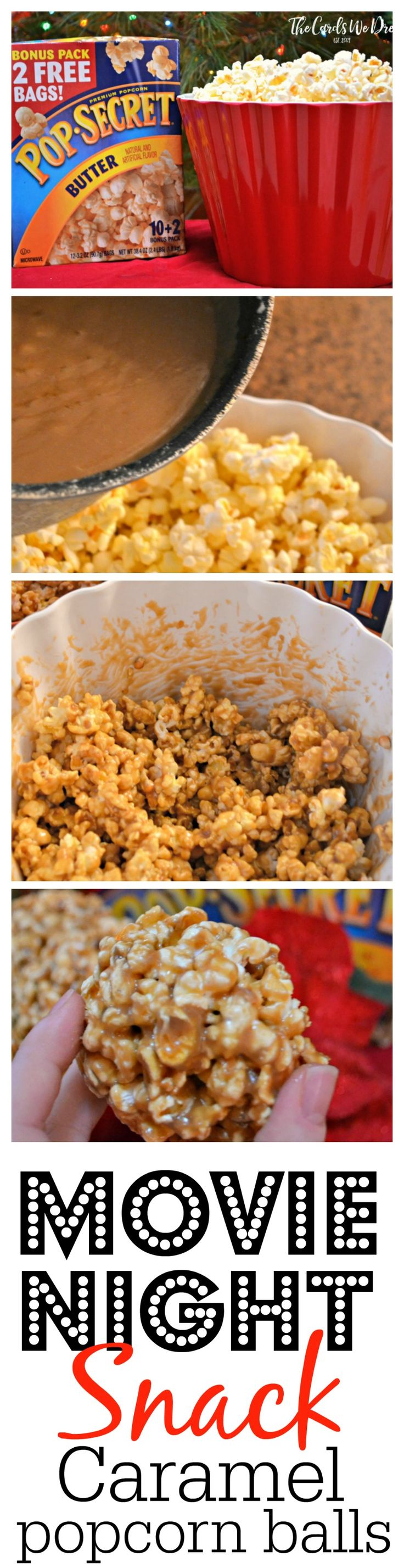 Delicious Caramel Popcorn Balls are a perfect and easy idea for the perfect movie night snack!! The recipe is one your family is sure to love! #Pop4AssassinsCreed #Pmedia #ad