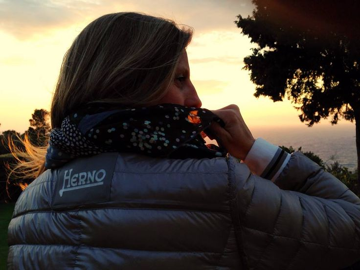 Patrizia #insideout for #FashionRevolution & #FashionRevolutionItalia #Herno