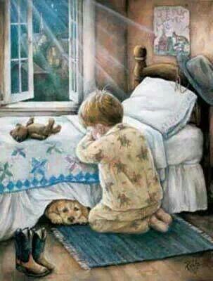 Praying-teach our children ❤️