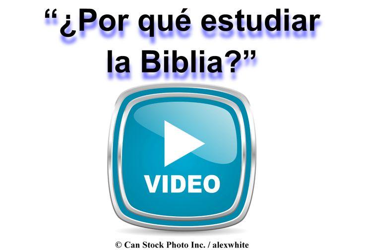 ¿Por qué estudiar la Biblia?  Tiene las respuestas que buscas!  Ver el video en línea para obtener más información:  www.jw.org/es/video-por-qu%C3%A9-estudiar-la-biblia/