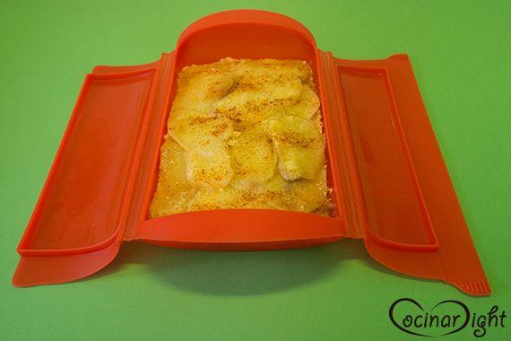 Con la ayuda del fantástico estuche de vapor de Lékué,os hemos preparado ungratin de patata con anchoas de la escala y pimentón rojo. La receta original la podéis encontrar en ell…