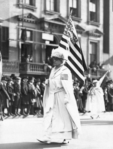 Carrie Chapman Catt – 1919 Carrie Catt was the president of the National American Woman Suffrage Association, which helped revitalise the suffrage movement and eventually worked to ratify the 19th Amendment in 1919, guaranteeing all women the right to vote.