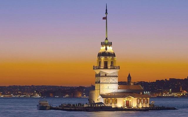 Maiden's Tower, Istanbul Turkey