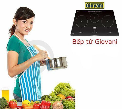 Bếp từ Giovani và nhiều ưu điểm hấp dẫn cho người dùng