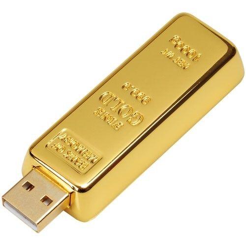 Clé USB Lingot d'or