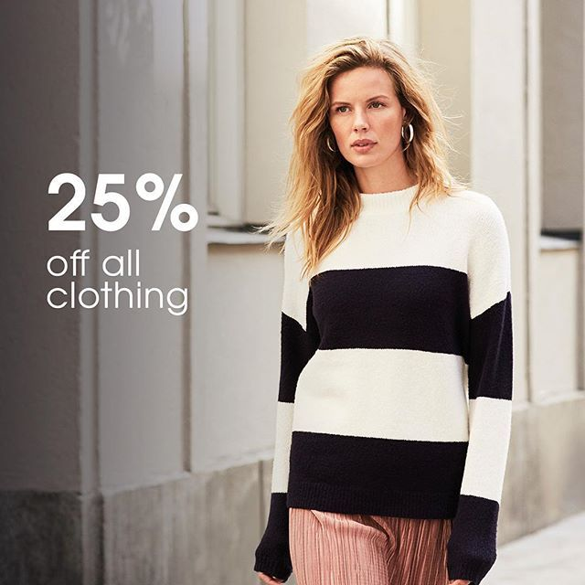 We still have 25% off all Tu clothing at Sainsbury's! Hurry, whilst stocks last.