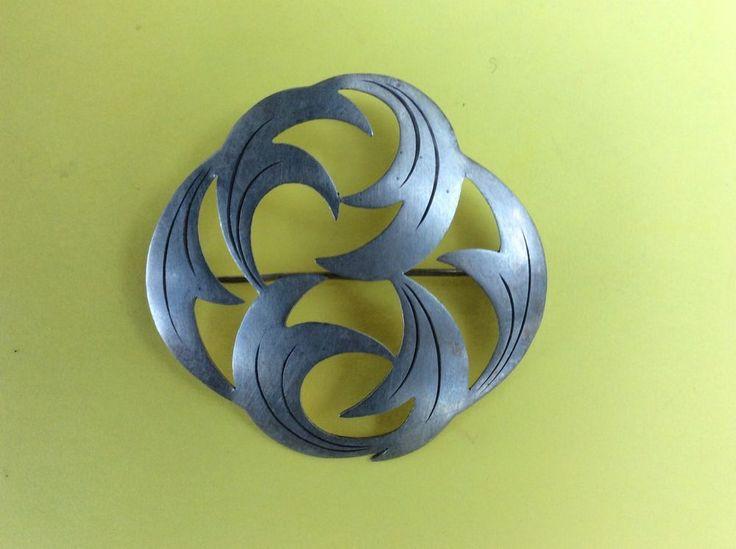 Brosche WMF Ikora, Silber