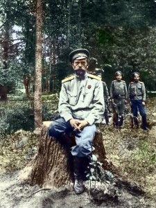 Царь Николай на фронте