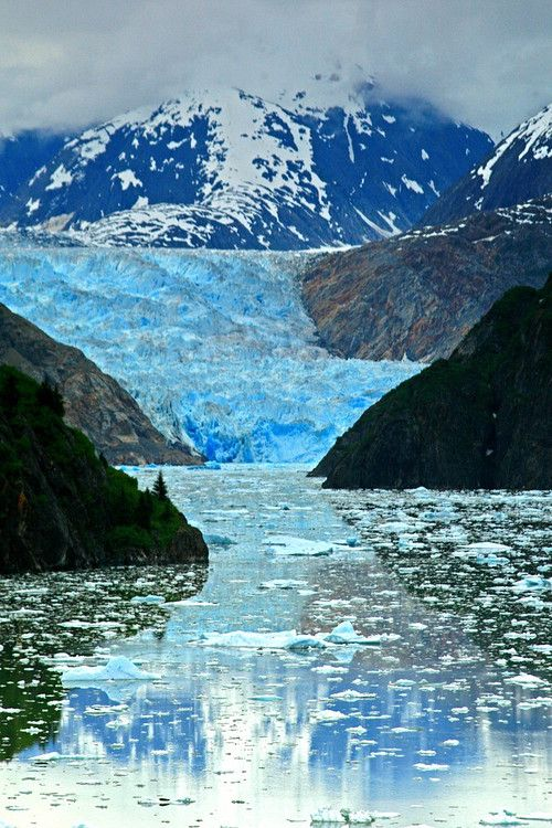 Sawyer Glacier, Inside Passage, Alaska www.websitemarketingstrategies.org