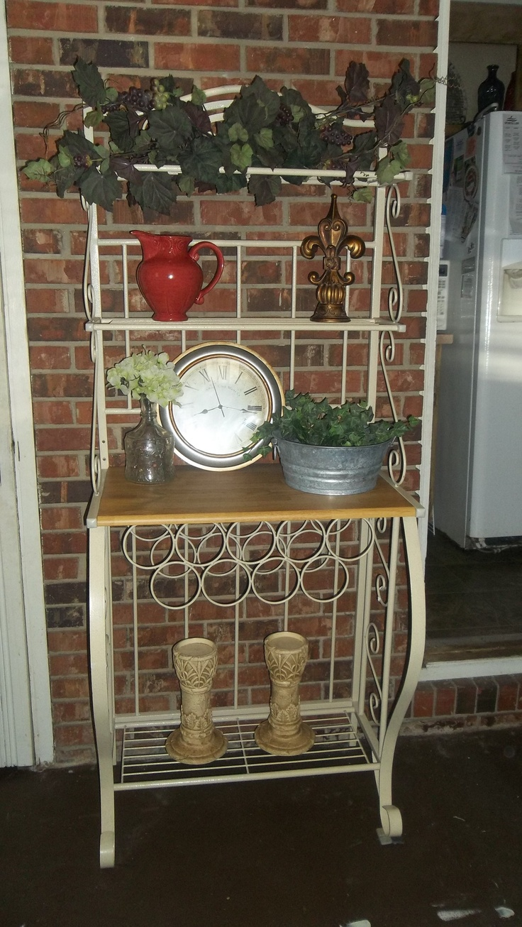1000 ideas about bakers rack on pinterest bakers rack decorating