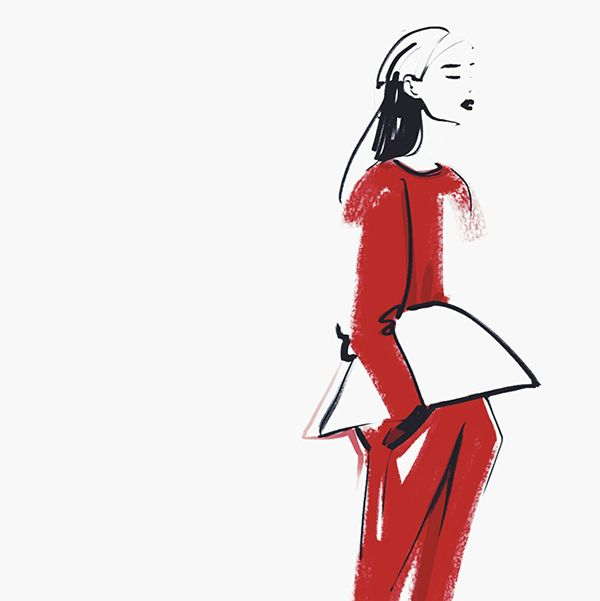 Fashion illustrations vol.2 by Kathy Murysina, via Behance