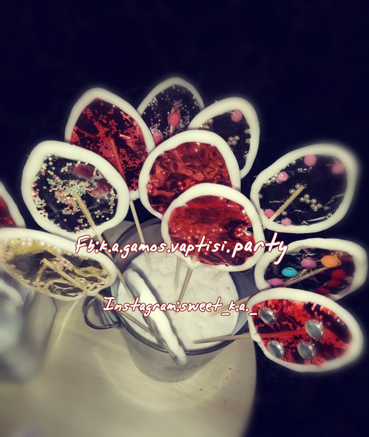 Easter handmade lollipops in egg and flower designs in two colors, with candy difference within them, in fasting and artysimi version!And do not forget to ask us #likes, #Subscribe, #follows and #comments .. Thank you !! ❤️ ❤️ ❤️❤️❤️ Fb: k.a.gamos.vaptisi.party  Instagram: sweet_k.a._  https://xiropiitesglikesapolafsiska.blogspot.gr
