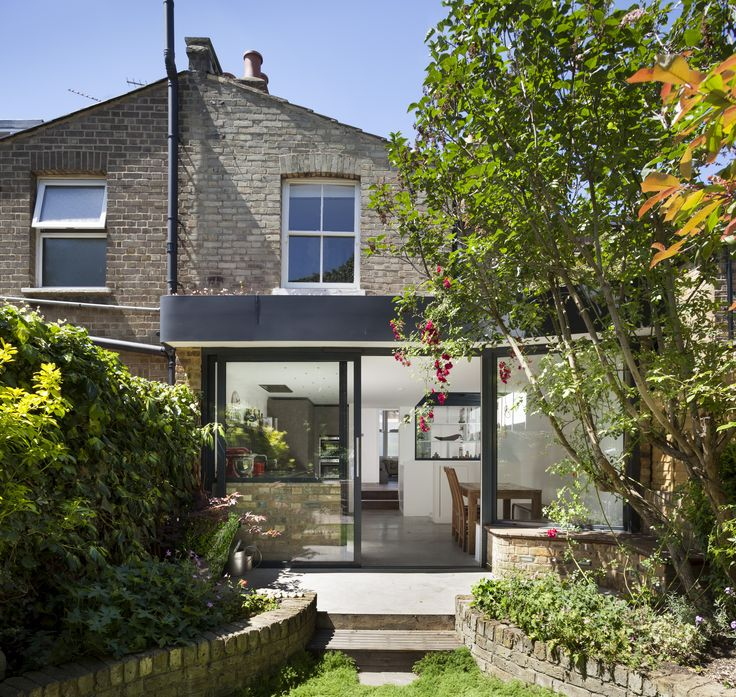 Modern Contemporary Residential Architecture Design London Extension