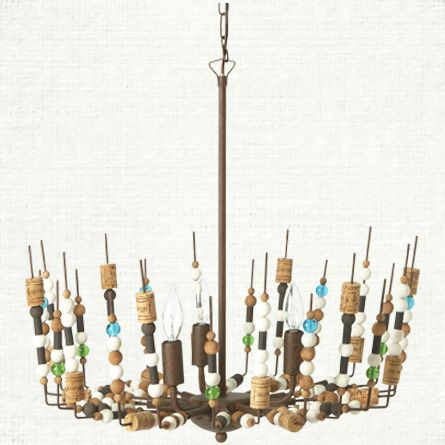 Check Out The Deal On SMALL SPOOL CHANDELIER At Eco First Art. Kitchen  PendantsDifferent StylesCraft ...