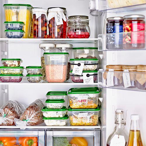 17 meilleures id es propos de stockage de r frig rateur for Boite de rangement cuisine