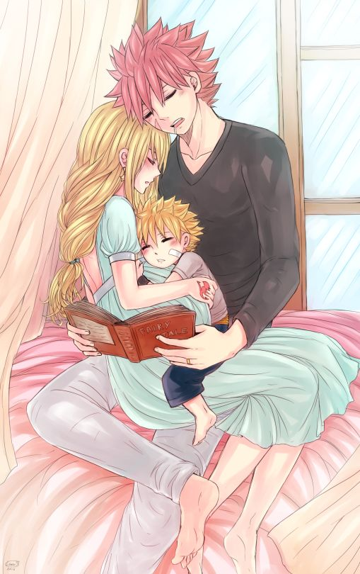 LeonS. Art Book | Perfect Family | NaLu
