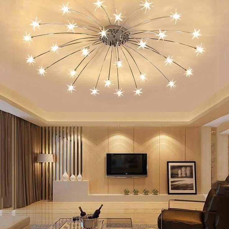 Pin On Iluminacion, Contemporary Living Room Ceiling Lights