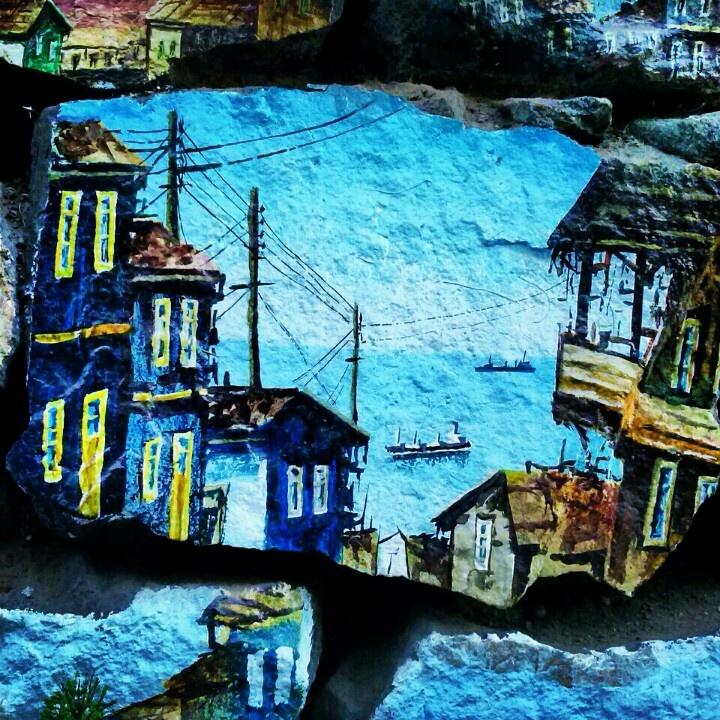 Draws in Valparaiso (Chile)
