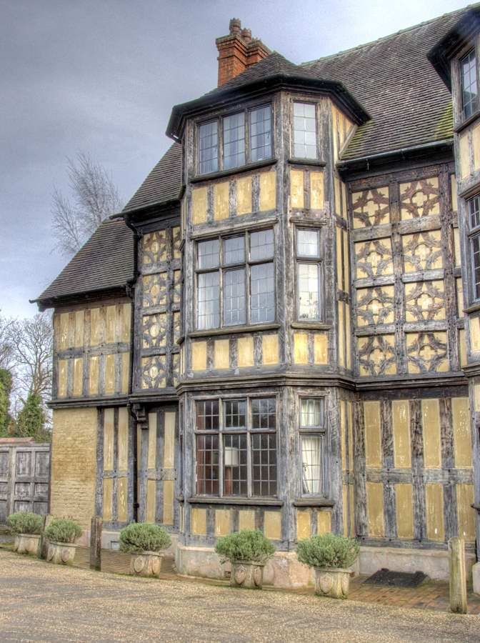 Medieval House In the town of Shrewsbury, Shropshire