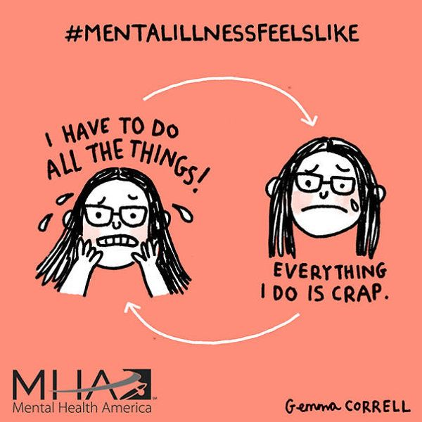 11 Comics That Nail What It Feels Like To Live With Mental Illness   Huffington…
