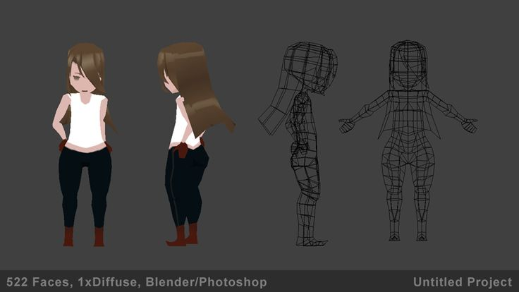 LOWPOLY (sub 1000~ triangle models) - Page 413 - Polycount Forum