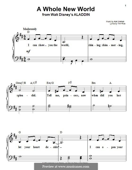 Hilaire image pertaining to free printable disney sheet music
