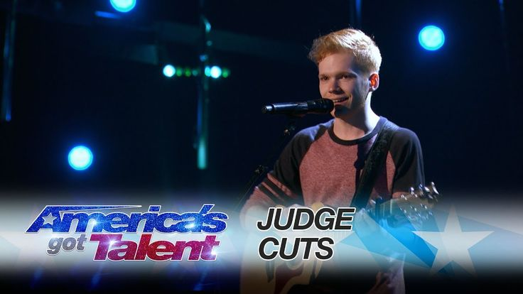 Chase Goehring: Singer Songwriter Gets Golden Buzzer From DJ Khaled - America's Got Talent 2017 - YouTube