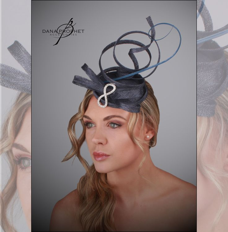 Blue Ostrich Quill Twist Sinamay Fascinator https://danaprophetaccessories.com/fascinators/blue-ostrich-twist-sinamay-fascinator/  Gorgeous rhinestone clip sets off this twisty creation.In South Africa? Go to @desch_luxury_wear in Sandton City to see this and even more fascinators! http://www.desch.co.za  #fascinators #races #durbanjuly #horserace #southafrica #fashion #style #kentuckyderby #trending #royal #sinamay #celebrations #wedding #bridal #bridesmaids #derbyhat #headpiece…