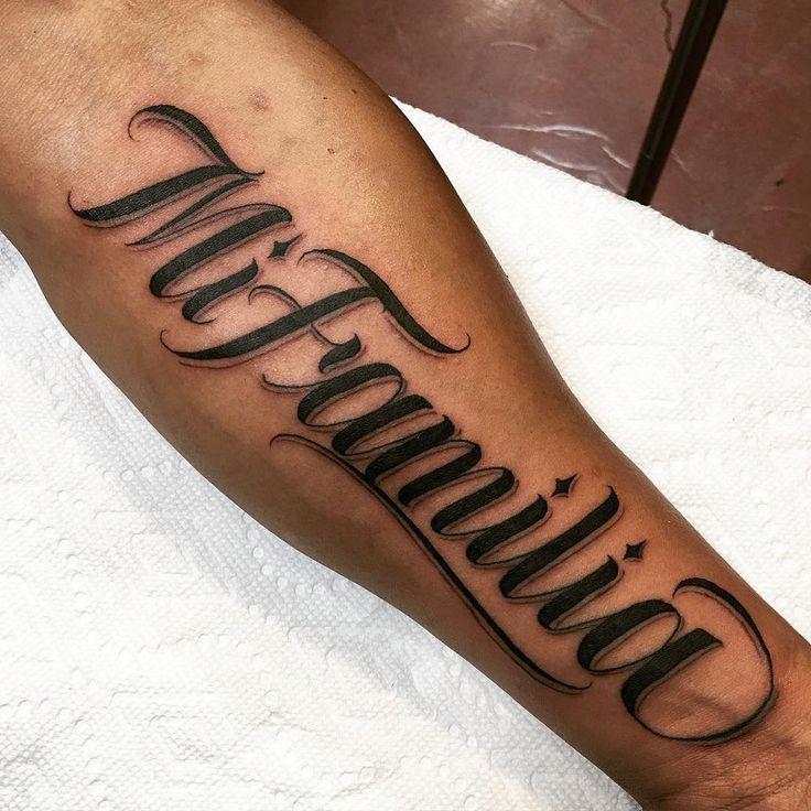 Quote Lettering Saullira: 25+ Best Ideas About Tattoo Familia On Pinterest
