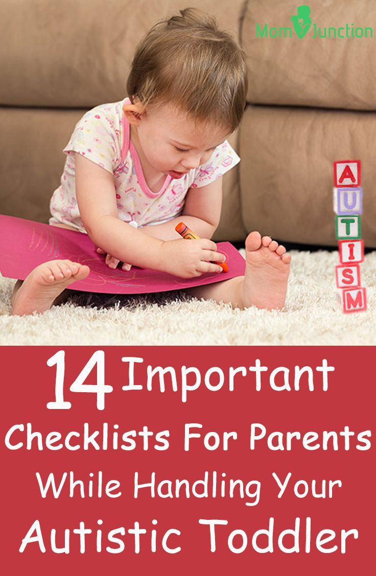 14 Important Checklists For Parents To Keep In Mind While Handling Your Autistic Toddler