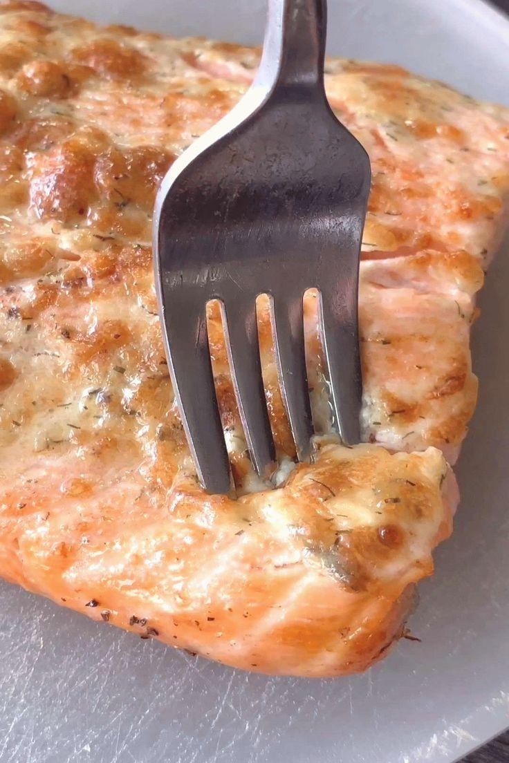 Air Fryer Parmesan Salmon KETO LOW CARB in 2020 Air