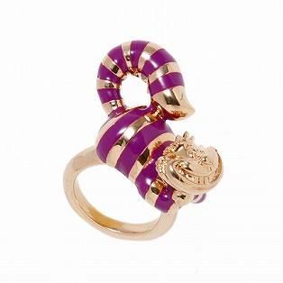 ALICE THE CHESHIRE CAT RING P-GOLD (SIZE#6)