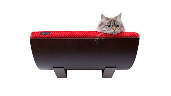 Cats shelf modern cat furniture cat perch soft and by cosyanddozy