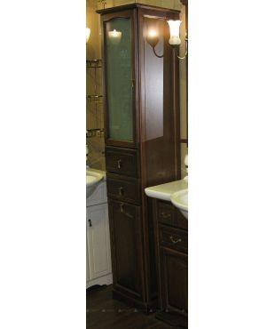 #Мебель для ванной #Opadiris Риспекто-40 Левый с корзиной Нагал Матовое стекло