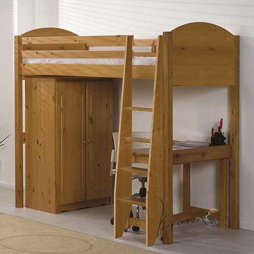 Verona Antique High Sleeper Bed Set 1 @House2HomeUK