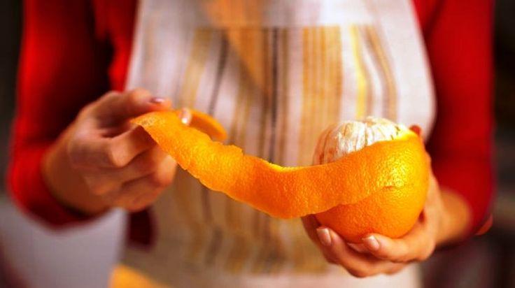 A narancshéj remek bőrápoló!