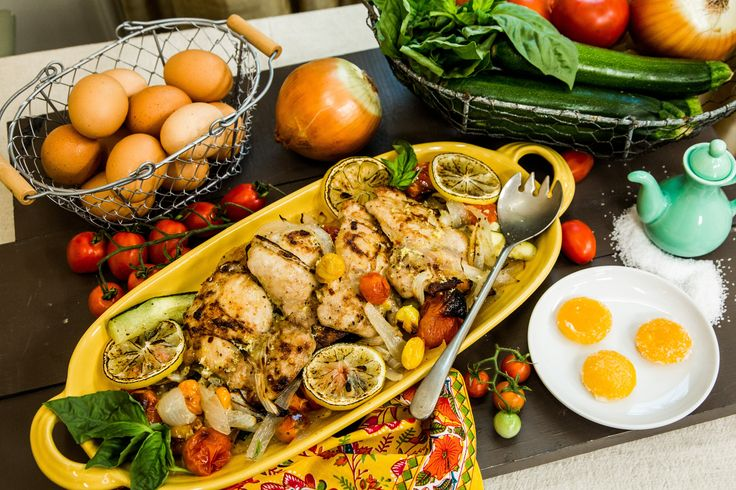 A delicious dinner the whole family can enjoy! Dan Kohler's Chicken Dinner with Cured Egg Yolk! Tune in to Home & Family weekdays at 10a/9c on Hallmark Channel!
