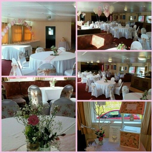 Floral , Pink and Lace - Ilkeston FC Bar and Function Room