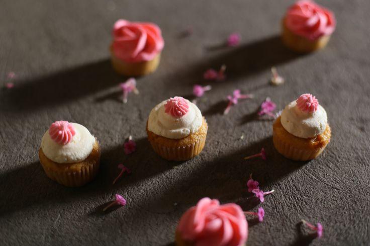 Mini cupcakes de caramelo