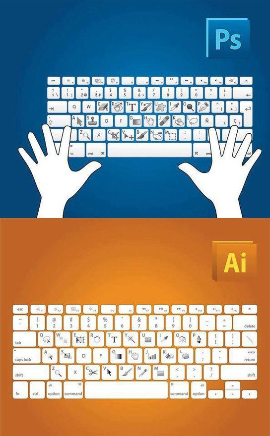 Lifesavers! Shortcuts for Photoshop and Illustrator.: Illustrations Shortcuts, Shortcuts Keys, Photoshop Illustrations, Graphics Design, Keyboard Shortcuts, Adobe Photoshop, Illustrators, Shorts Cut, Illustrations Shorts