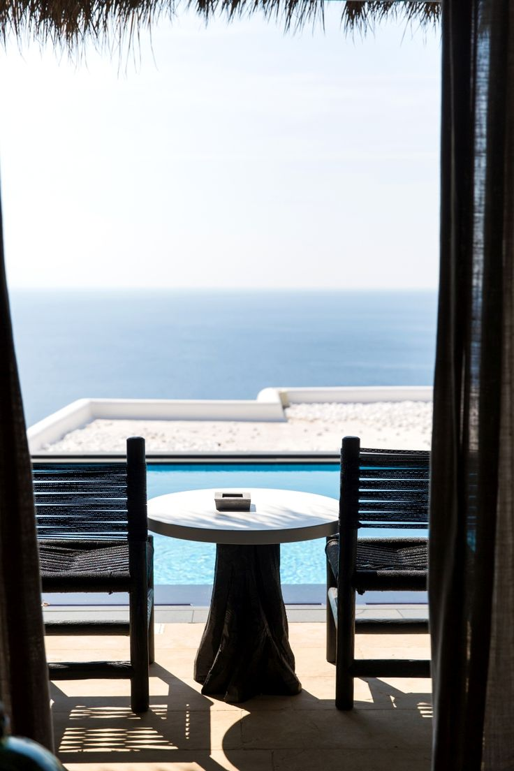 Spoil your other half with breathtaking views over the Elia Beach!