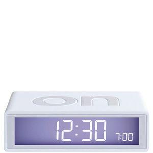 Lexon Flip Clock - White: Image 1