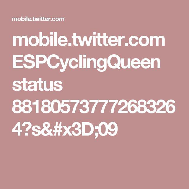 mobile.twitter.com ESPCyclingQueen status 881805737772683264?s=09
