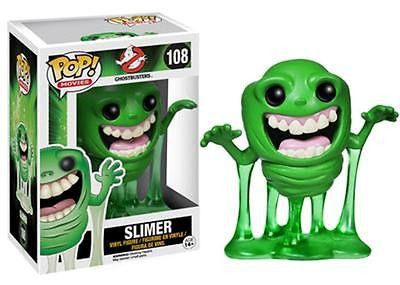 The hit Ghostbusters film comes to wonderfully stylized life with this fantastic Pop! Vinyl figure! The Ghostbusters Slimer Pop! Vinyl Figure features an adorable and stylized 3 3/4-inch tall vinyl figure of the green ooze-dripping ghost with an insatiable appetite, Slimer. Fans of the fun and wacky Ghostbusters films will not want to miss out on this awesome vinyl figure! #funko #collectible #popvinyl #actionfigure #toy #TheGhostbusters #Slimer