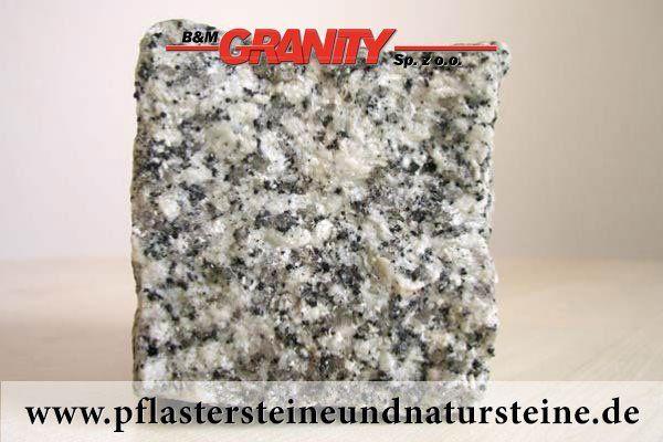 """Firma B&M GRANITY - frostbeständige Pflastersteine aus polnischem Granit – Mittelkorn"""" – """"Salz und Pfeffer""""  (Granit-Pflastersteine) http://www.pflastersteineundnatursteine.de/fotogalerie/pflastersteine/"""