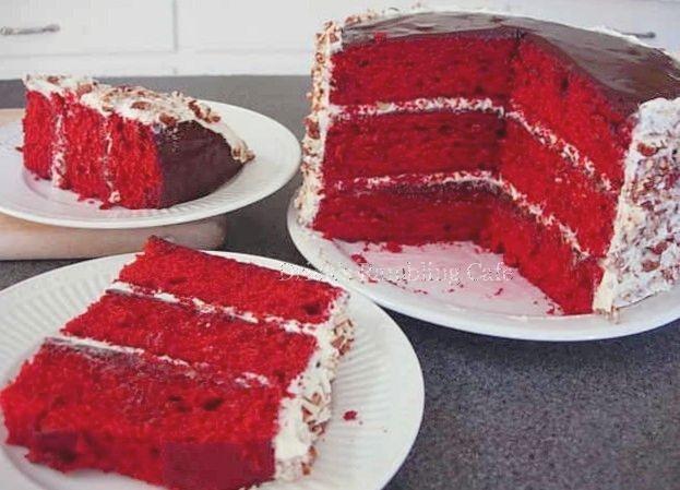 Dricks Rambling Cafe: Very Special Red Velvet Cake