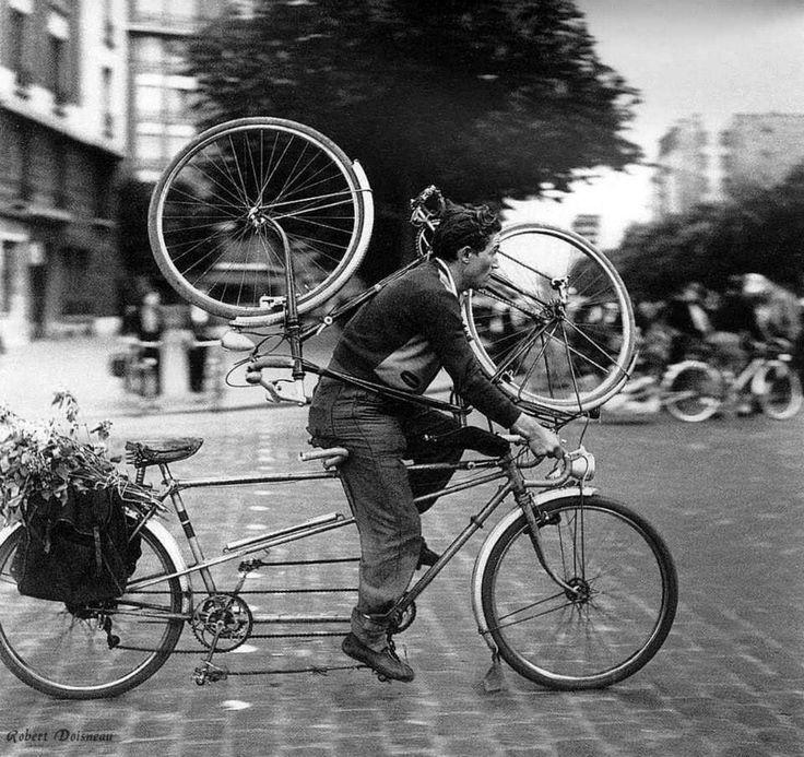 Porte d, Orleans Paris 1953 Robert Doisneau