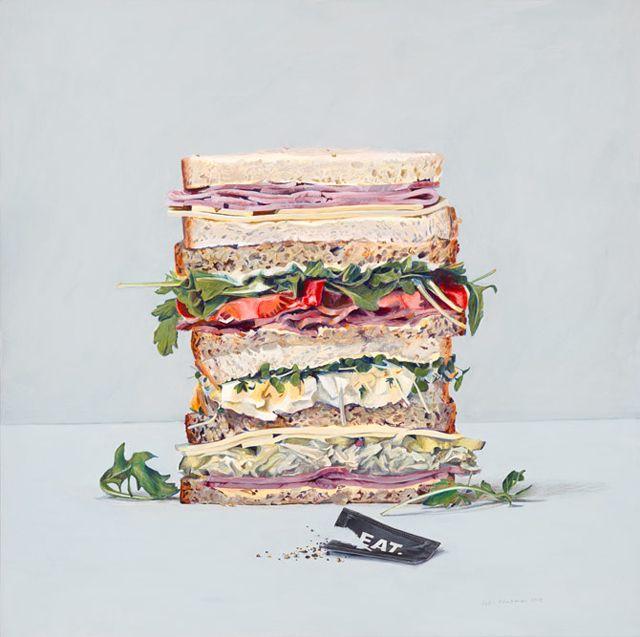 Eat Me | Food art, Watercolor food, Food painting