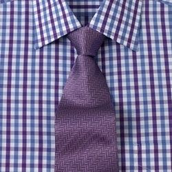 Colourful shirt and tie combo to wear to an interview