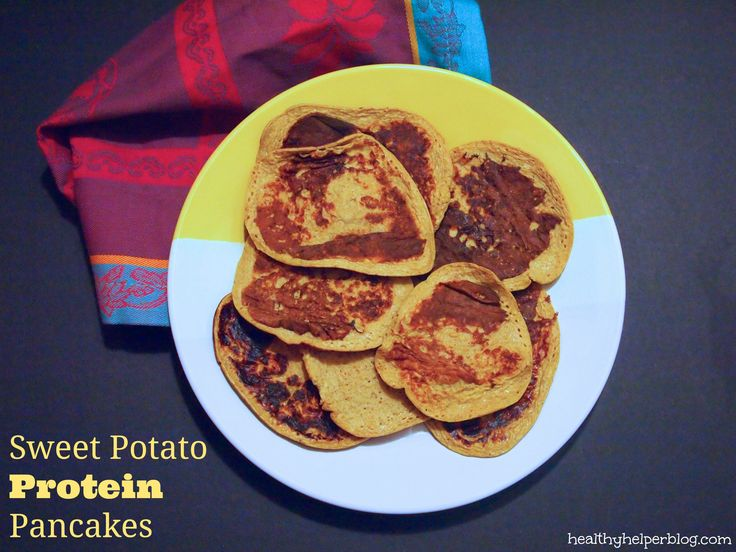 WIAW: Sweet Potato Pancakes – Healthy Helper